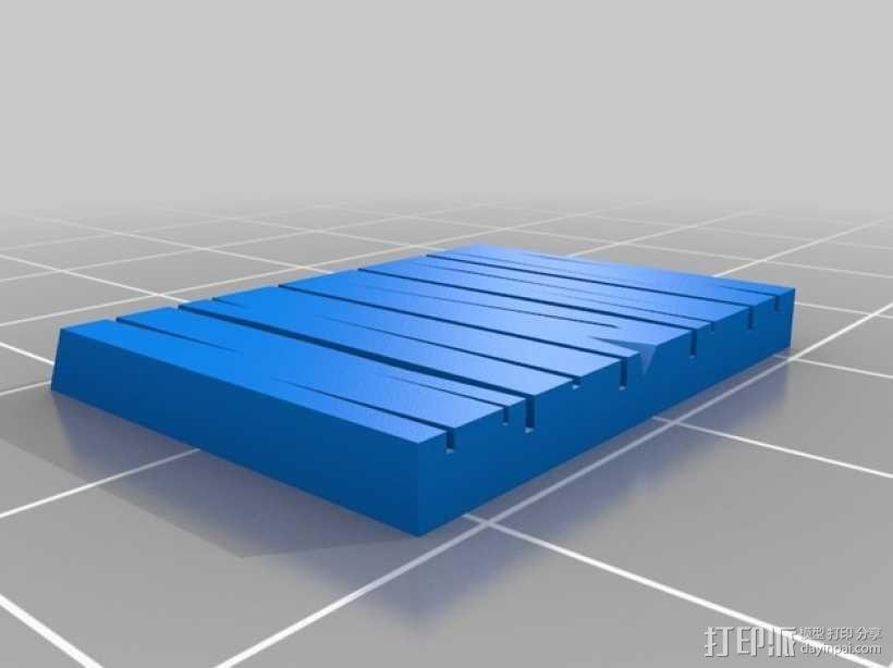 战争游戏:农舍 3D模型  图5