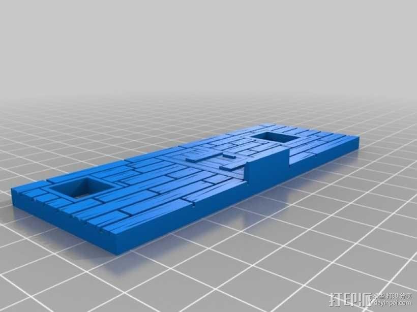 战争游戏:农舍 3D模型  图7