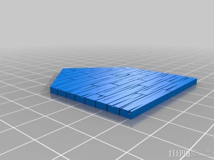 战争游戏:农舍 3D模型  图10