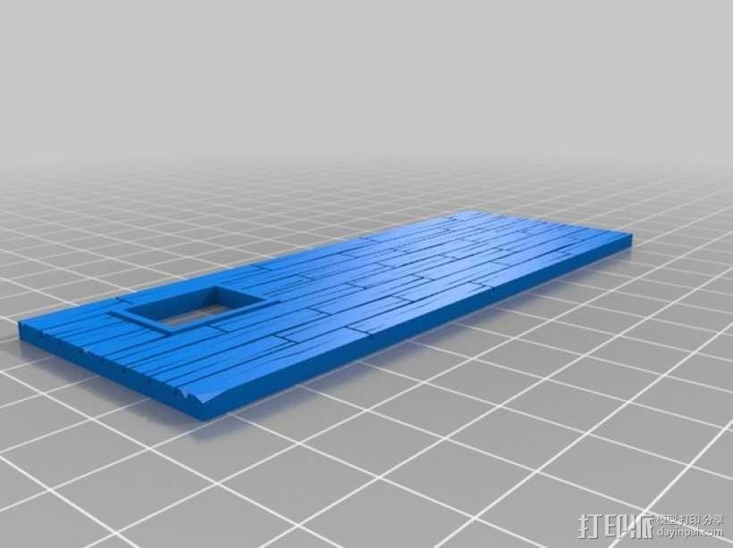 战争游戏:农舍 3D模型  图9
