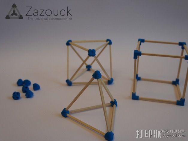 Zazouck建筑工具包 3D模型  图2