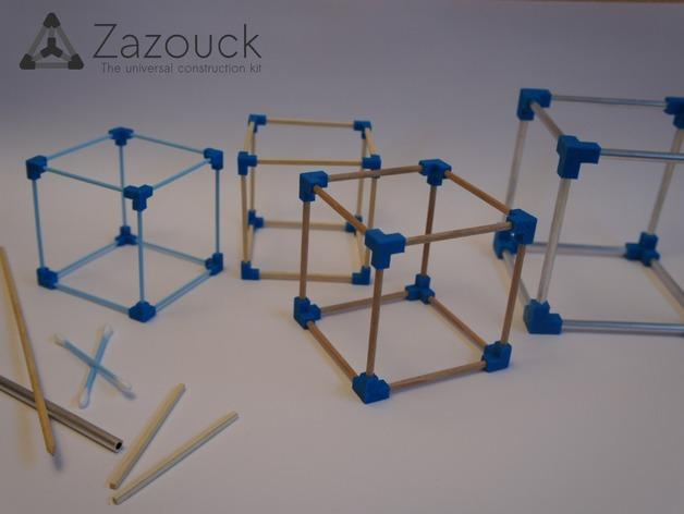 Zazouck建筑工具包 3D模型  图3