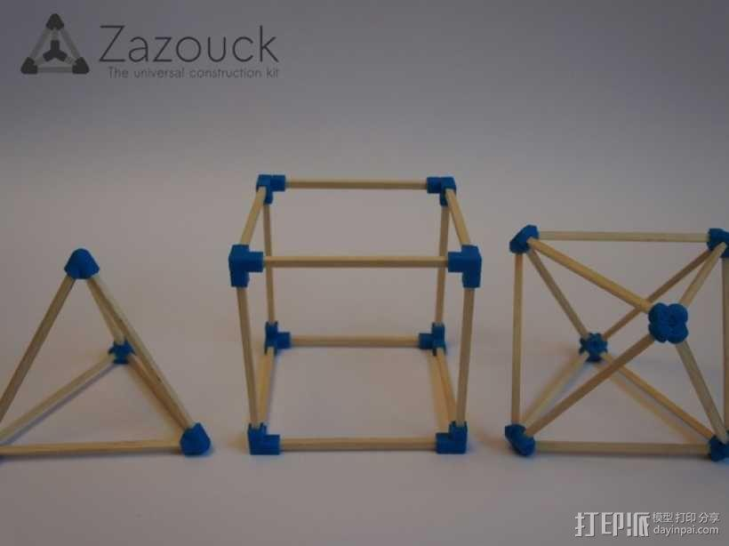 Zazouck建筑工具包 3D模型  图1
