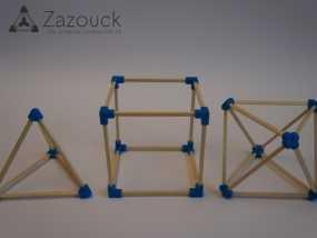 Zazouck建筑工具包 3D模型