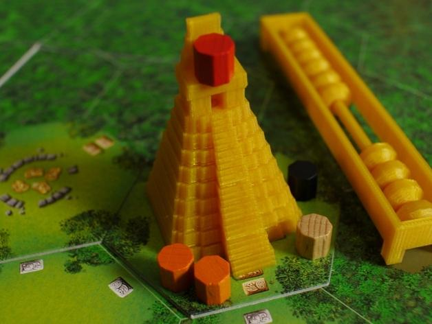 Tikal:神殿方块 3D模型  图1