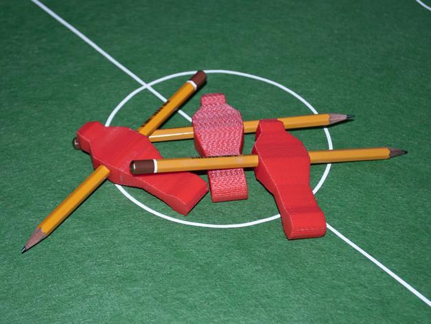 迷你足球场模型 3D模型  图3