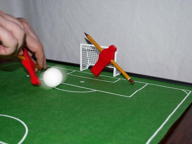 迷你足球场模型 3D模型  图4