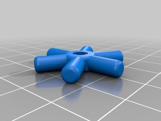 使用竹签制作而成的建筑模型 3D模型  图3