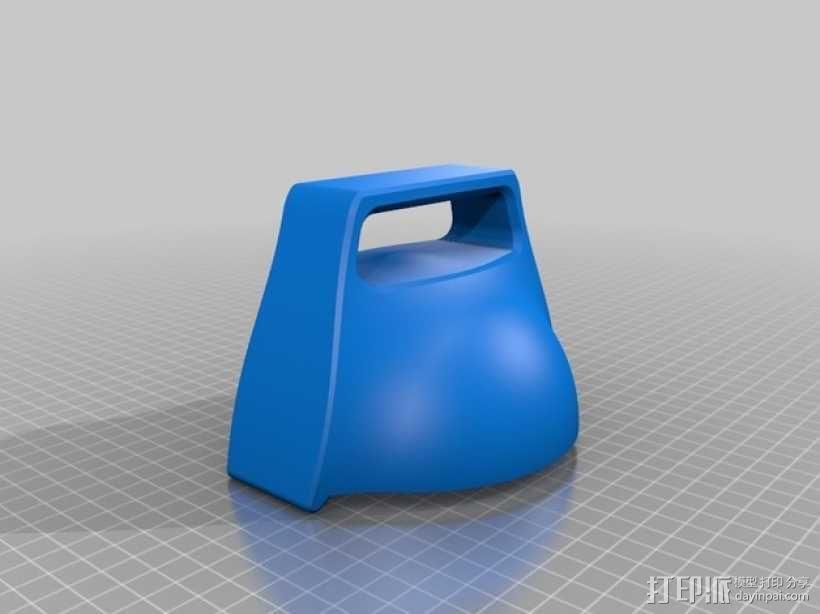 雪球模具 3D模型  图3