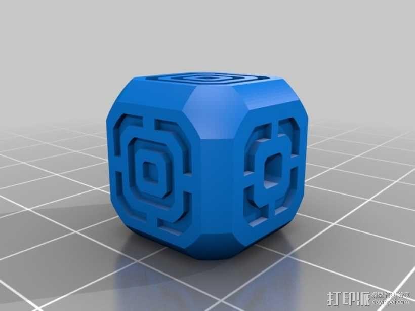 AFK游戏骰子 3D模型  图2