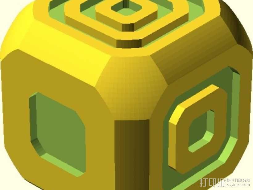 AFK游戏骰子 3D模型  图3