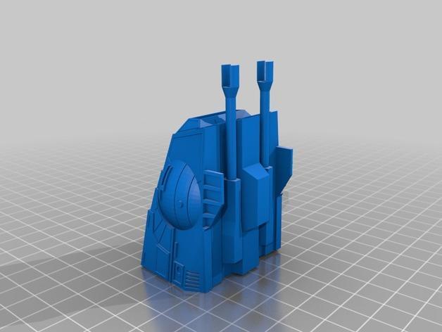 星球大战:AT-AT步行者 3D模型  图2