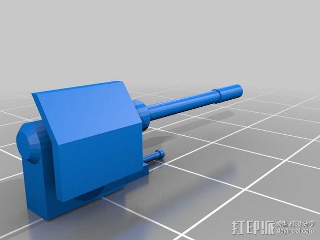 星球大战:AT-AT步行者 3D模型  图8