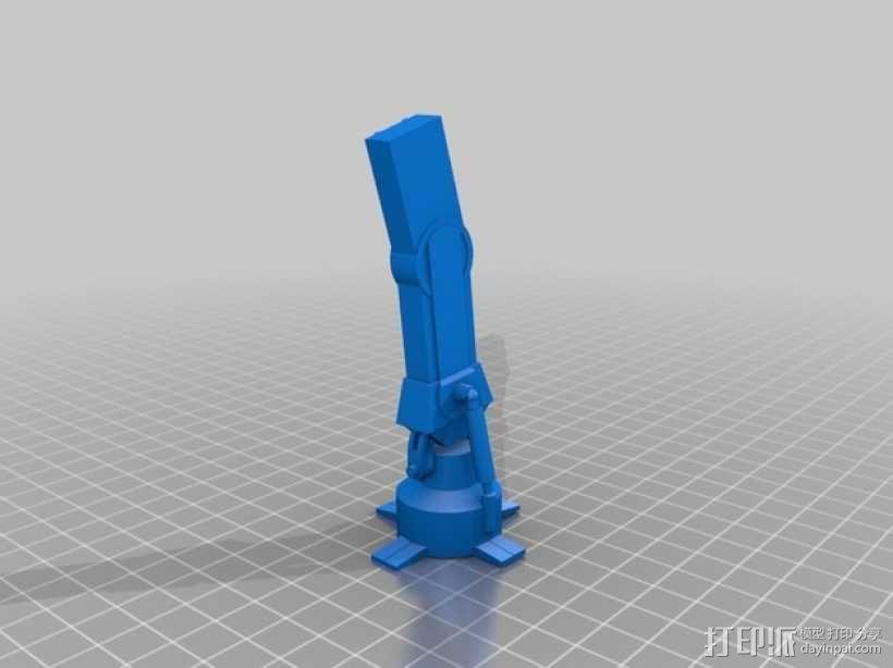 星球大战:AT-AT步行者 3D模型  图12