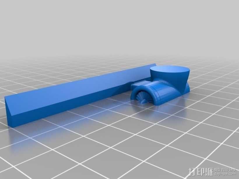 星球大战:AT-AT步行者 3D模型  图11