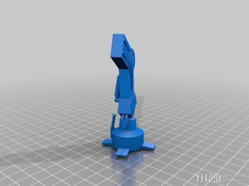 星球大战:AT-AT步行者 3D模型  图13