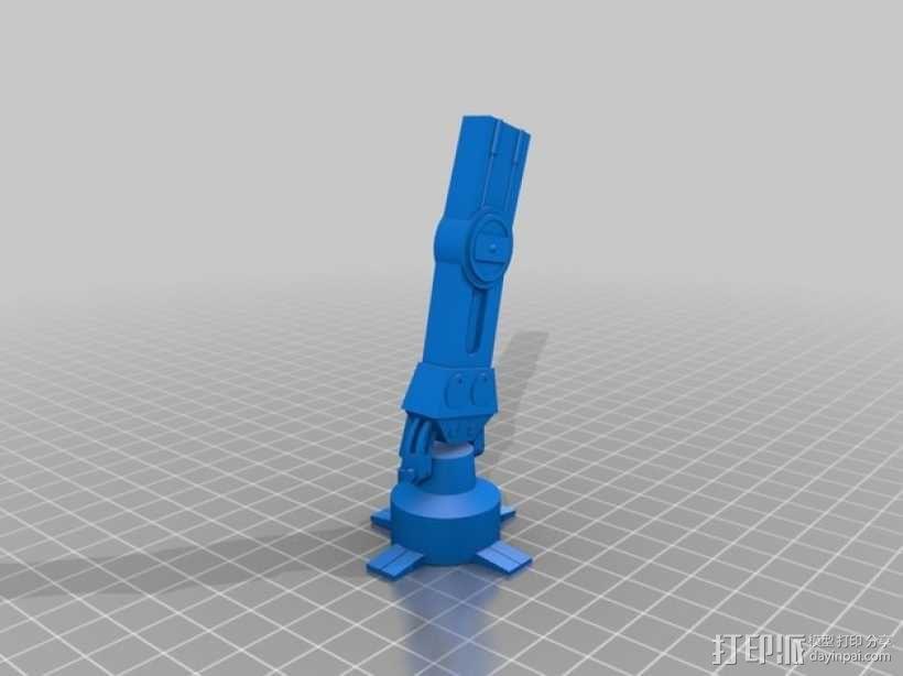 星球大战:AT-AT步行者 3D模型  图14