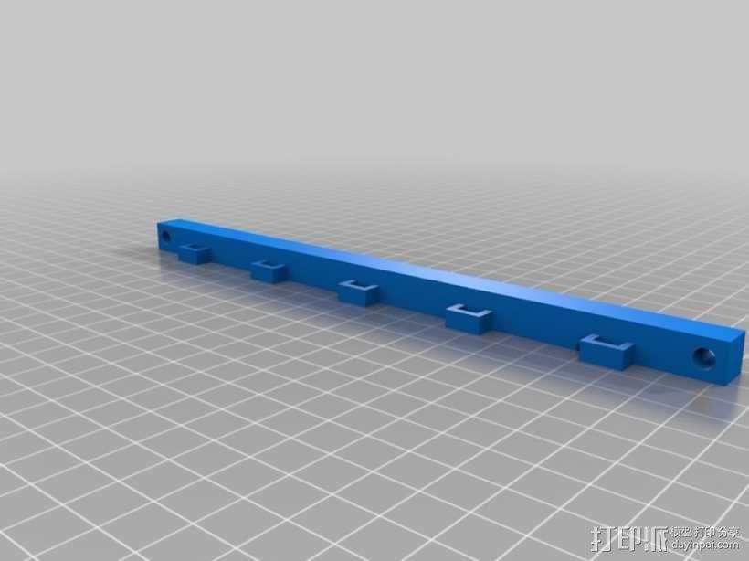 多发投石机模型 3D模型  图9