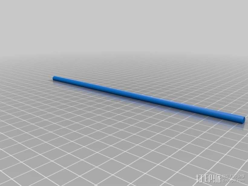 多发投石机模型 3D模型  图11
