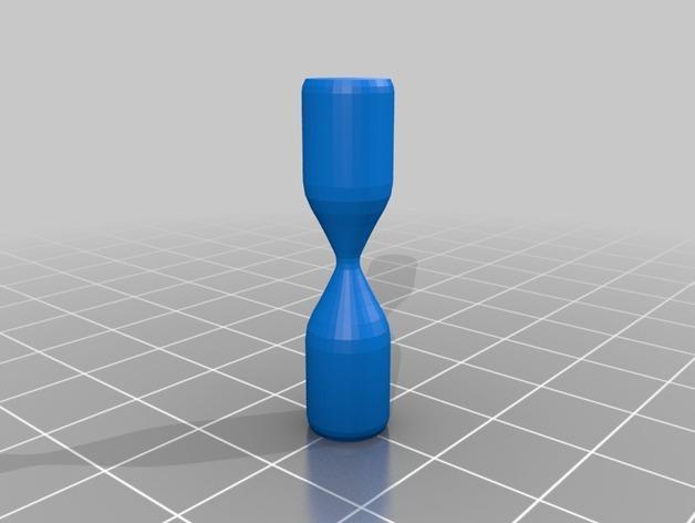 迷你沙漏计时器 3D模型  图3