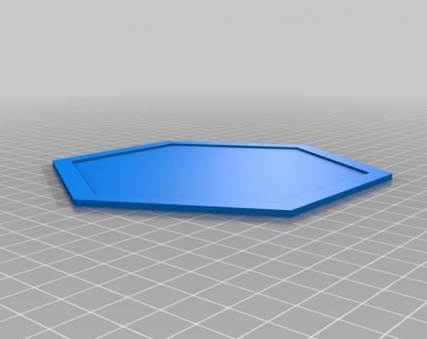 六边形拼图模型 3D模型  图5