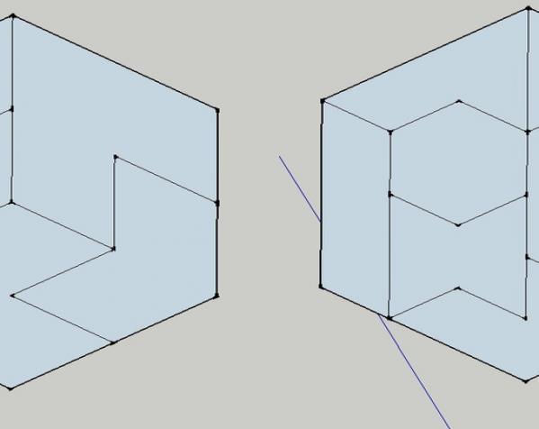 六边形拼图模型 3D模型  图8