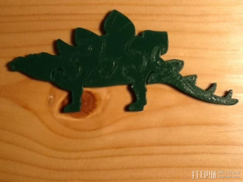剑龙拼图 3D模型  图1