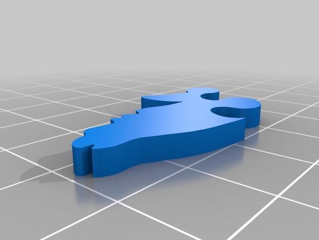 剑龙拼图 3D模型  图4
