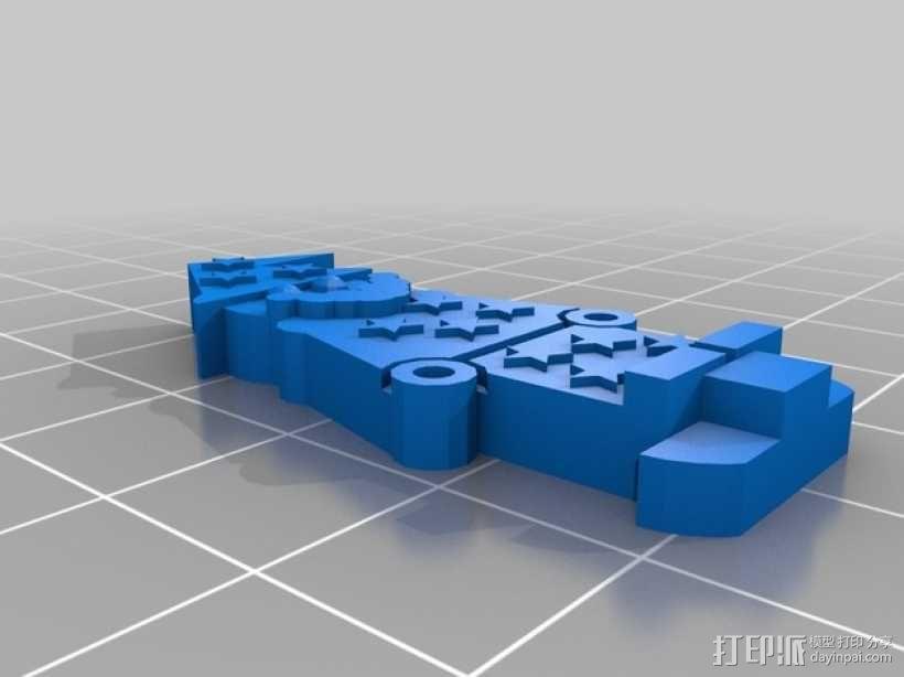 FlatMinis:巫师 3D模型  图2