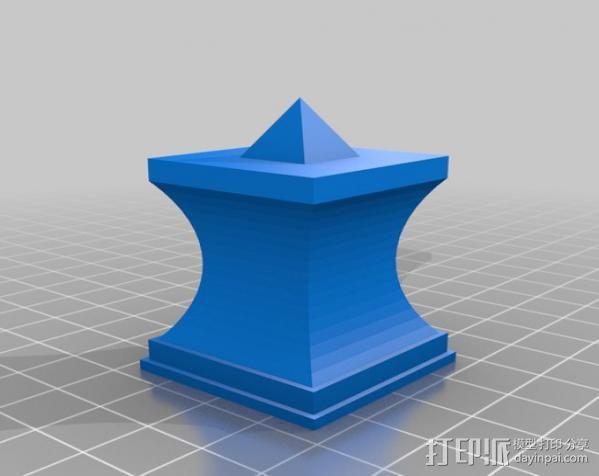 模块化的方尖塔 3D模型  图5