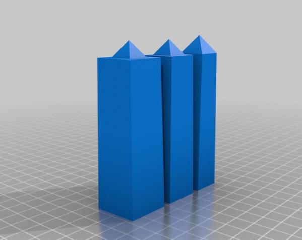 模块化的方尖塔 3D模型  图4