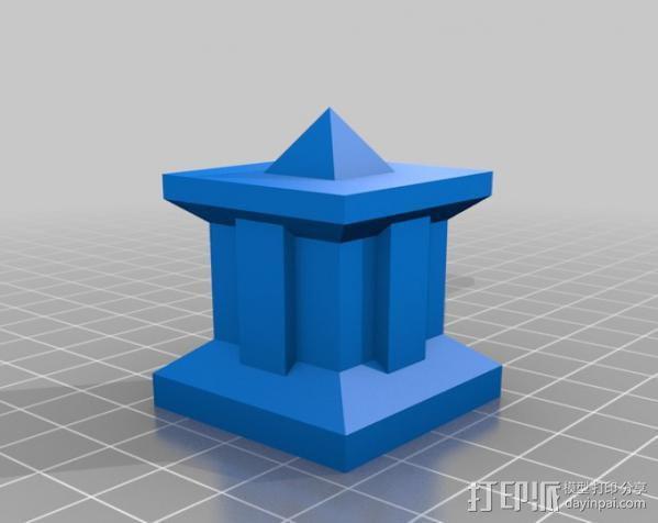 模块化的方尖塔 3D模型  图6