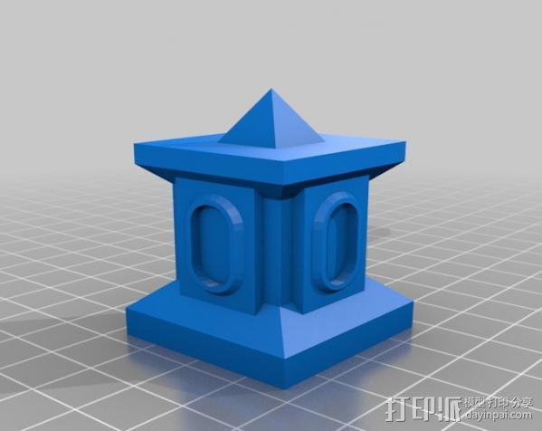 模块化的方尖塔 3D模型  图7