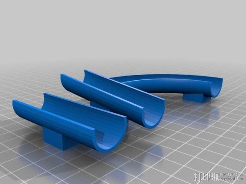 乐高滚珠轨道模型 3D模型  图2