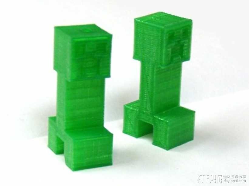 爬行者钥匙扣 3D模型  图1