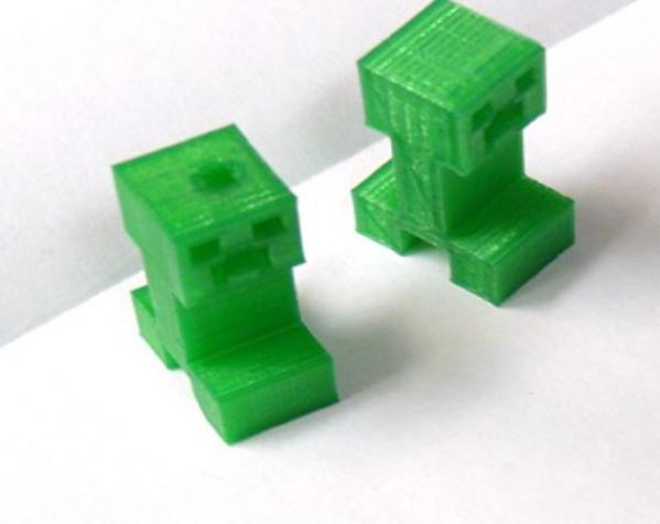 爬行者钥匙扣 3D模型  图2