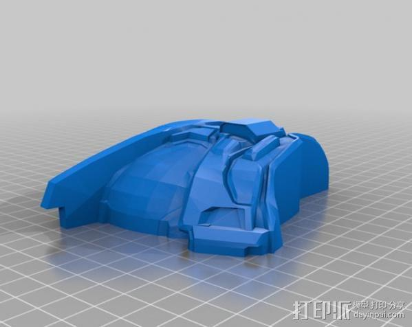 Halo头盔 3D模型  图3