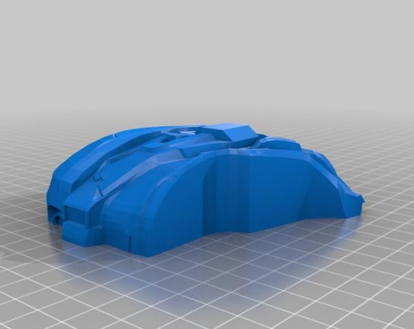 Halo头盔 3D模型  图4