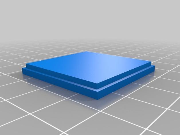 迷你棋盘模型 3D模型  图4