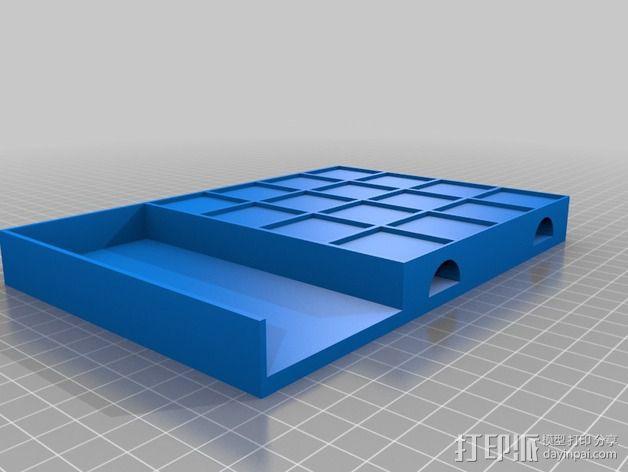 迷你棋盘模型 3D模型  图3