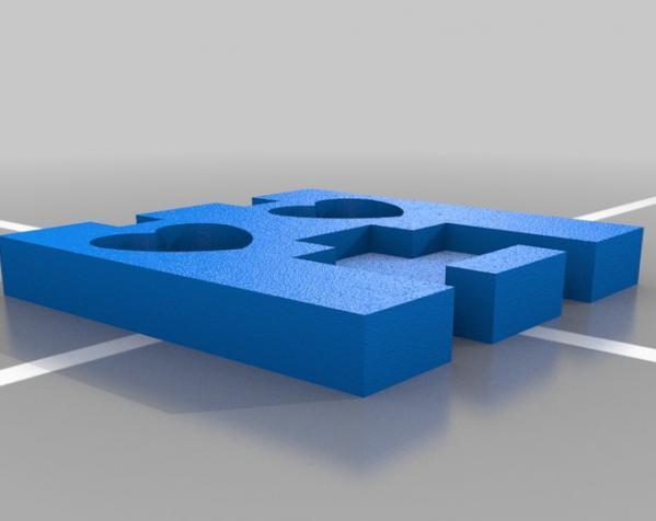 爬行者造型的情人节礼物盒 3D模型  图7