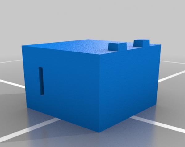 爬行者造型的情人节礼物盒 3D模型  图9
