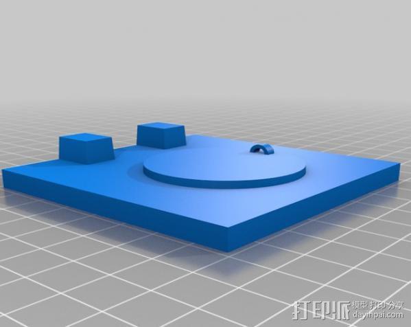 爬行者造型的情人节礼物盒 3D模型  图10
