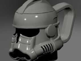 风暴骑兵马克杯 3D模型