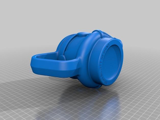 风暴骑兵马克杯 3D模型  图4