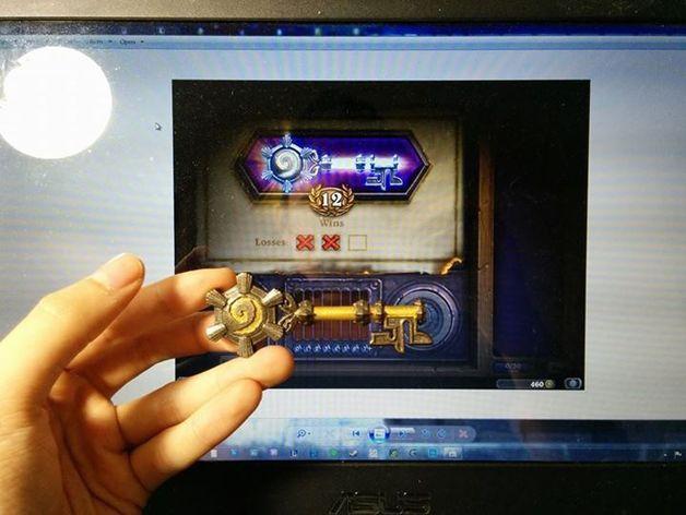 炉石传说12:竞技场钥匙 3D模型  图5