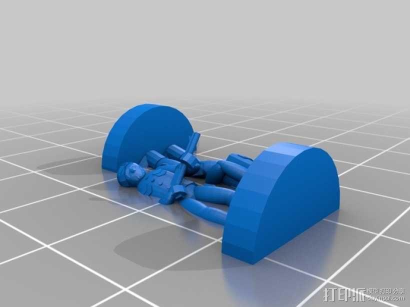 Pocket Tactics:外交使节团 3D模型  图3