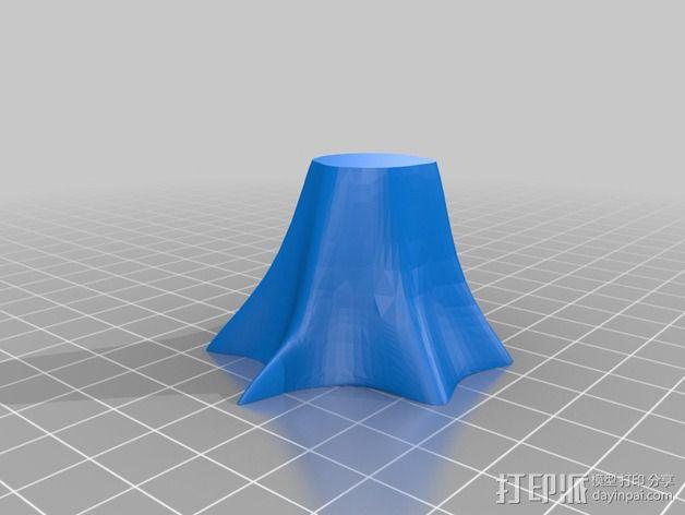 迷你树桩模型 3D模型  图3