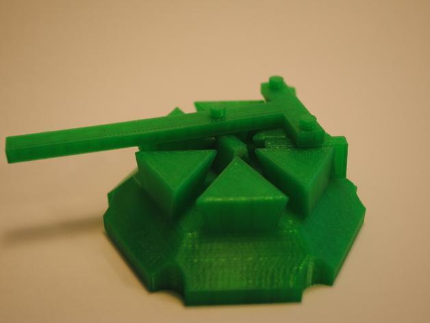 梁规旋转装置 3D模型  图2