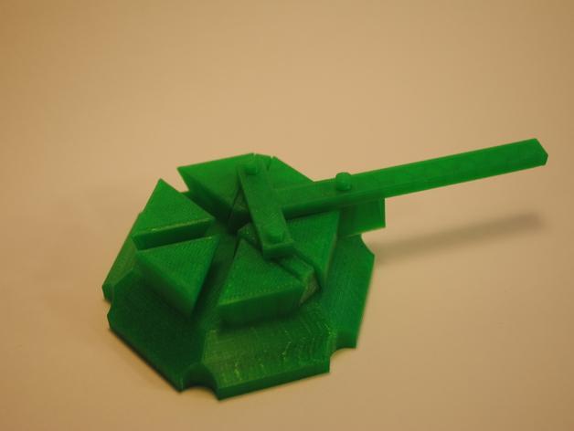 梁规旋转装置 3D模型  图5